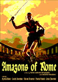 (833) AMAZONS OF ROME (1963) Sylvia Sims Peplum Action
